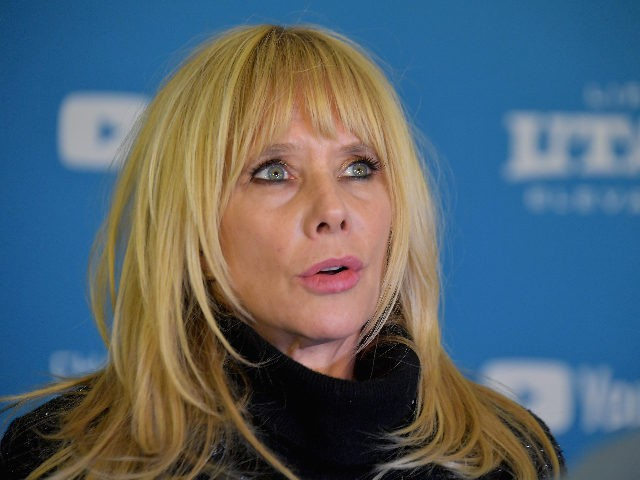 """PARK CITY, UT - JANUARY 25: Rosanna Arquette attends the """"Untouchable"""" Premiere during the 2019 Sundance Film Festival at The Marc Theatre on January 25, 2019 in Park City, Utah. (Photo by Michael Loccisano/Getty Images)"""