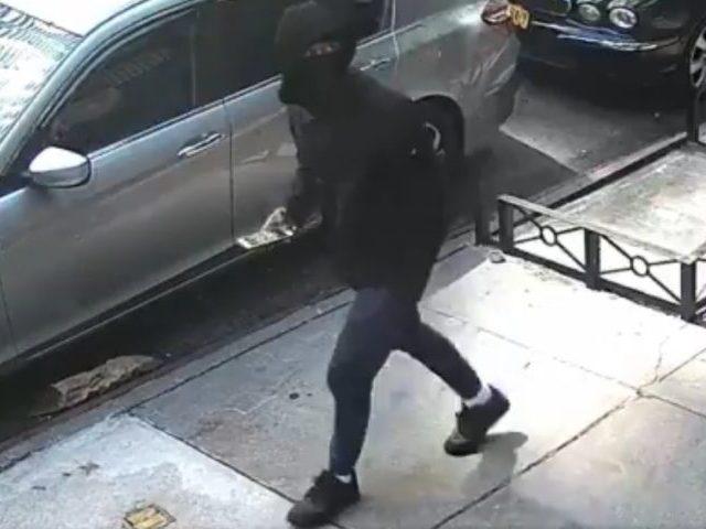 NYC homicide suspect. Screenshot via Twitter.