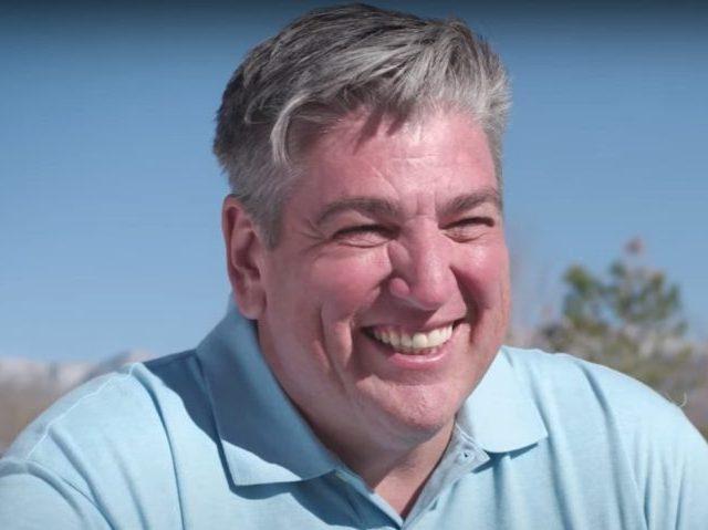 Mark Moores, candidate for NM01. Screenshot via YouTube.