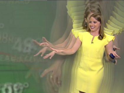 Meteorologist Jennifer McDermed. Screenshot via YouTube.