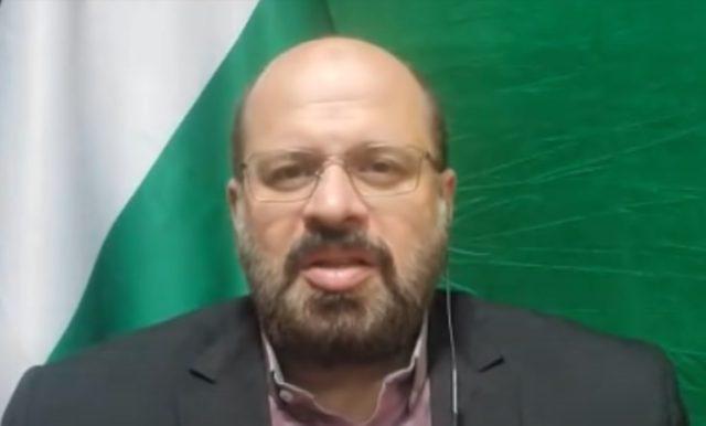 Khaled al-Qaddumi. Screenshot via YouTube.