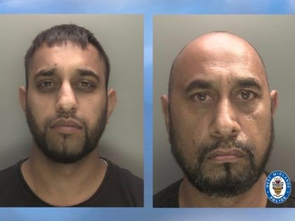 Malik, left, and Nawaz were handed suspended jail sentences