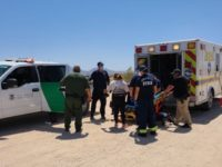 Welton Border Patrol Station agents rescued an 11-year-old migrant child after he collapsed in the Arizona desert. (Photo: U.S. Border Patrol/Yuma Sector)