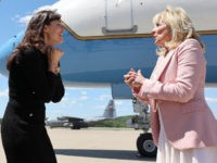 Photo Op: Jennifer Garner and Jill Biden Rip Off Masks — 'We Feel Naked'