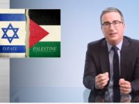 'War Crimes' -John Oliver Scolds Israel's Acts of Self Defense