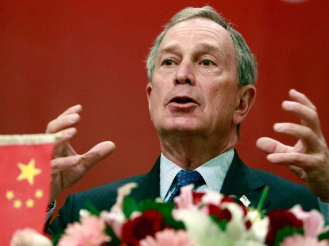 New York City Mayor Michael Bloomberg delivers a speech at Fudan University in Shanghai, China, Wednesday Dec. 12, 2007. (AP Photo/Eugene Hoshiko)