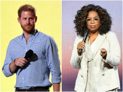 Oprah, Prince Harry to Get Hollywood Talking on Mental Health