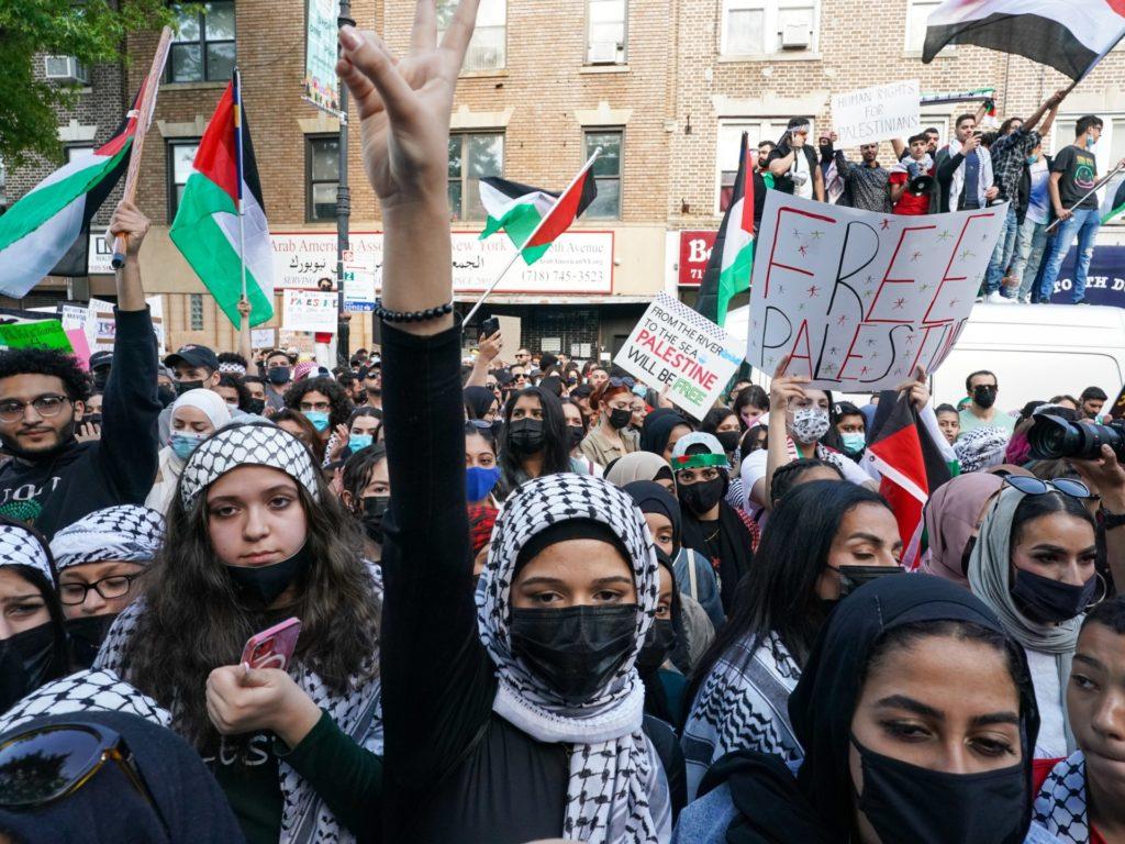 Pictures: Pro-Palestinian Demonstrators March Across Major U.S. Cities
