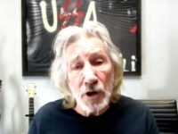 Roger Waters Sits by Poster Comparing America to Nazis, Trashes Israel