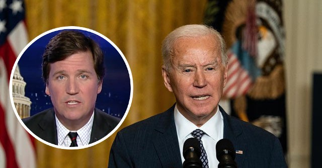 Biden Researching 2024 Campaign Rivals, Including Tucker Carlson