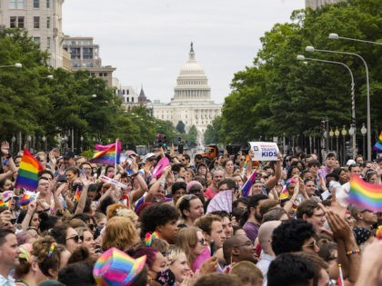 Mayor Fully Opens Up D.C. in Time for Pride Crowd: 'We Are the Gayest City in America'