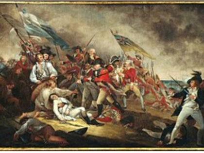 Death of General Warren at the Battle of Bunker Hill byJohn Trumbull