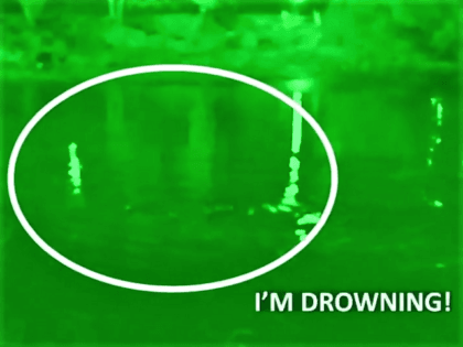 Fox News video captures a group of migrants struggling to stay afloat in the Rio Grande. (Video Screenshot: Fox News/Sean Hannity)
