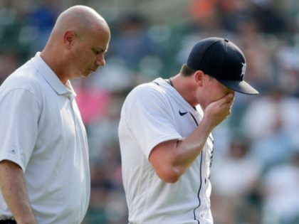 WATCH: Tigers Pitcher Sent to Minors After Vomiting on the Mound