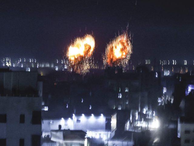 Gaza attack (Mahmud Hams / Getty)