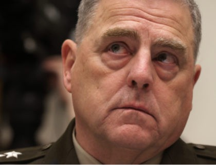 """WASHINGTON, DC - JUNE 23: U.S. Chairman of the Joint Chiefs of Staff General Mark Milley testifies during a hearing before the House Committee on Armed Services at Rayburn House Office Building June 23, 2021 on Capitol Hill in Washington, DC. The committee held the hearing on """"The Fiscal Year …"""