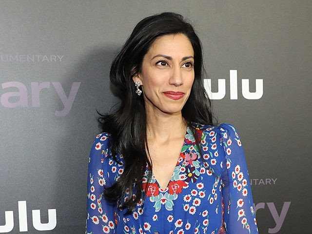 """NEW YORK, NEW YORK - MARCH 04: Huma Abedin attends Hulu's """"Hillary"""" NYC Premiere on March 04, 2020 in New York City. (Photo by Monica Schipper/Getty Images for Hulu)"""