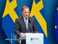 Sweden's Prime Minister Stefan Loefven attends a press conference after the no-confidence voting in the Swedish Parliment, Stockholm, June 21, 2021. - Sweden's government was toppled, after Prime Minister Stefan Lofven became the first Swedish premier to lose a no confidence vote, meaning he can now either resign or trigger …