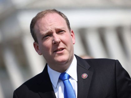 WASHINGTON, DC - MAY 20: Rep. Lee Zeldin (R-NY) speaks at a press conference on the current conflict between Israel and the Palestinians on May 20, 2021 in Washington, DC. The Republicans voiced their support for Israel and urged the Biden Administration to intervene. (Photo by Kevin Dietsch/Getty Images)