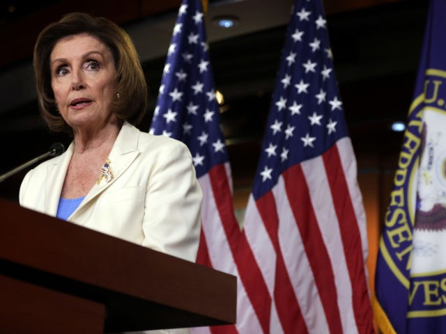 WASHINGTON, DC - JUNE 24: U.S. Speaker of the House Rep. Nancy Pelosi (D-CA) speaks during a weekly news conference at the U.S. Capitol June 24, 2021 in Washington, DC. Speaker Pelosi announced that she is forming a select committee to investigate the January 6, 2021 Capitol riot. (Photo by …