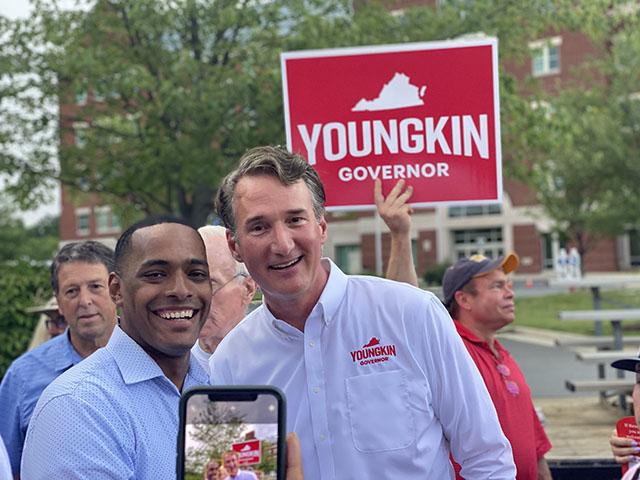 Glenn Youngkin rally