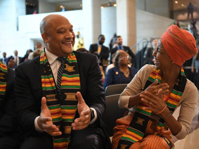 Congressional Black Caucus Supports Ilhan Omar's Radical Remarks Comparing U.S., Israel to Terrorists