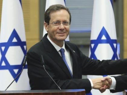 Isaac Herzog (Ronen Zvulun / Associated Press)