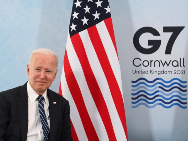 Joe Biden Goes Global with $40 Trillion 'Build Back Better for the World' Infrastructure Plan