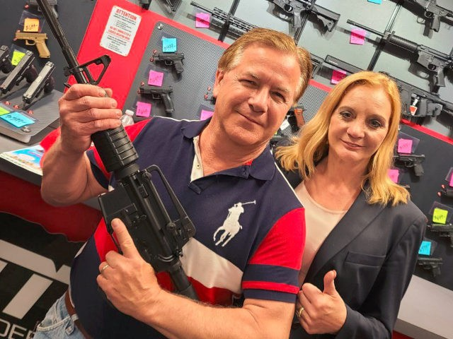 Mark McCloskey got a new AR-15.