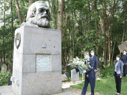 Marx London Chinese Ambassador