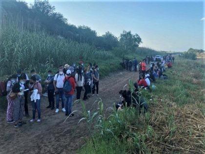 Record numbers of migrants cross border into Del Rio Sector in May. (Photo: U.S. Border Patrol/Del Rio Sector)