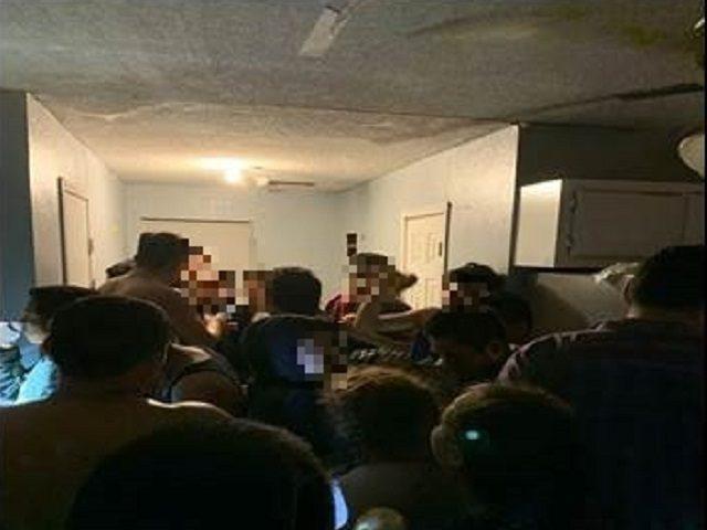 Migrants found in Rio Grande Valley human smuggling stash house. (Photo: U.S. Border Patrol/Rio Grande Valley Sector)