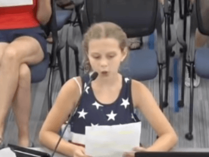Watch: Nine-Year-Old Girl Slams School Board for Installing Political BLM Posters on Campus