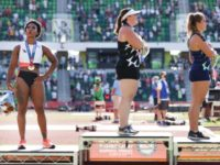 U.S. Olympian Gwen Berry Promises to Protest on Medal Stand