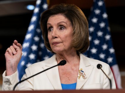 """House Speaker Nancy Pelosi of Calif., speaks during a media availability at the Capitol in Washington, Thursday, June 24, 2021. Pelosi announced on Thursday that she's creating a special committee to investigate the Jan. 6 attack on the Capitol, saying it is """"imperative that we seek the truth."""" (AP Photo/Alex …"""