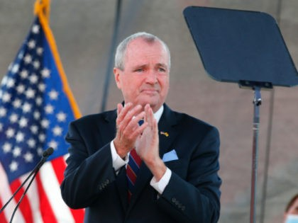 In this Aug. 25, 2020 file photo, New Jersey Gov. Phil Murphy speaks during his 2021 budget address at SHI Stadium at Rutgers University in Piscataway, NJ. Murphy says he and fellow Democratic legislative leaders have agreed to raise income taxes on millionaires, Thursday, Sept. 17, while also giving about …