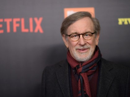 """NEW YORK, NY - MARCH 27: Steven Spielberg attends the """"Five Came Back"""" world premiere at Alice Tully Hall at Lincoln Center on March 27, 2017 in New York City. (Photo by Mike Coppola/Getty Images)"""