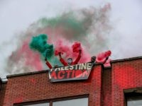 Watch: Palestinian Activists 'Storm and Occupy' Israeli Defence Factory in England