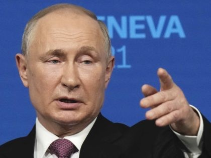 Vladimir Putin Refers to 'Black Lives Matter' to Deflect Human Rights Questions in Geneva