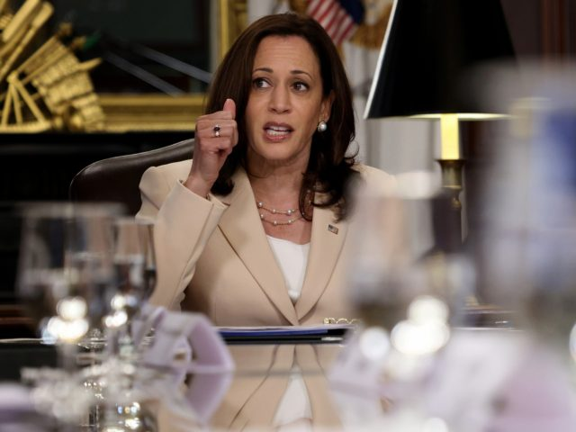 Kamala Harris Hosts Women Senators for Dinner Party and Cheese Puffs