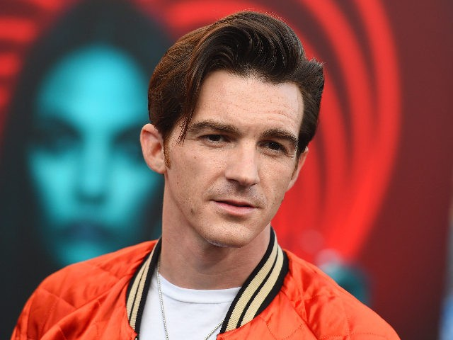"""Drake Bell arrives at the world premiere of """"The Spy Who Dumped Me"""" on Wednesday, July 25, 2018 in Los Angeles. (Photo by Jordan Strauss/Invision/AP)"""