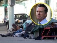 Gavin Newsom Assaulted by 'Aggressive' Homeless Man on Oakland Street