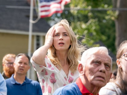 """Evelyn (Emily Blunt) braves the unknown in """"A Quiet Place Part II."""" 