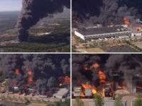 Illinois: Massive Chemical Fire at Chemtool Plant Prompts Evacuations, National Guard Activated