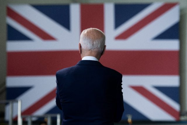 Joe Biden has arrived in England for the G7 summit this weekend and his first trip abroad since becoming US president