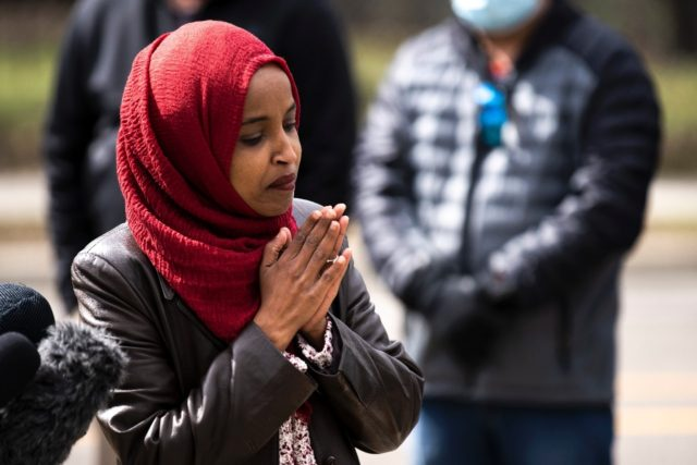 US Representative Ilhan Omar, one of two Muslim women in Congress, has been criticized for comments in which she appeared to equate US 'atrocities' with those of Hamas and the Taliban
