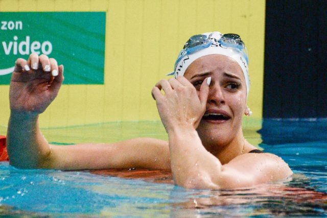 Aussie McKeown smashes world record, Titmus goes close at ...