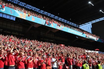 There will be a raucous crowd at the Parken Stadium hoping to cheer Denmark into the last 16