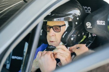 Zasada says he is raring to go for the Safari Rally Kenya where the 91-year-old will taken on rivals almost 70 years his junior