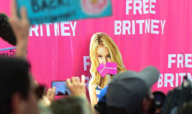 """Some adoring Britney Spears fans have launched a """"FreeBritney"""" online campaign"""